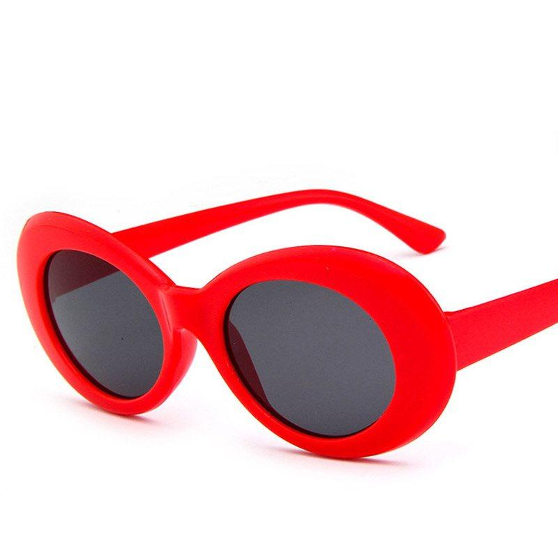 Resin Korean Oval Sunglasses