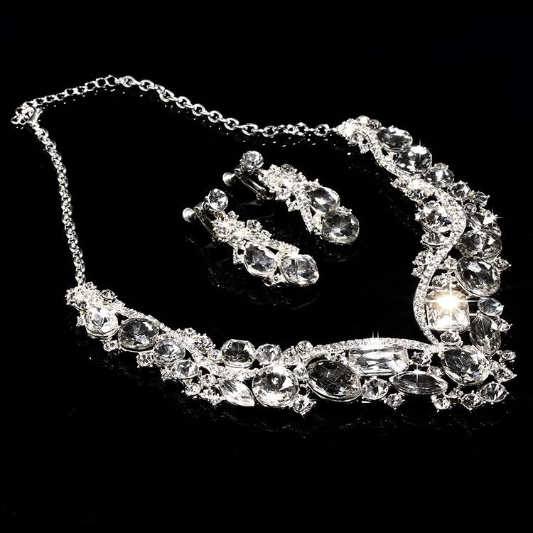 Korean Necklace Wedding Jewelry Sets