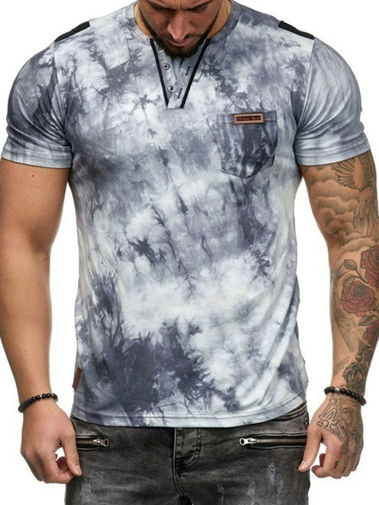 Round Neck Casual Slim Short Sleeve T-shirt