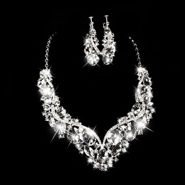 Korean Necklace Engagement Jewelry Sets