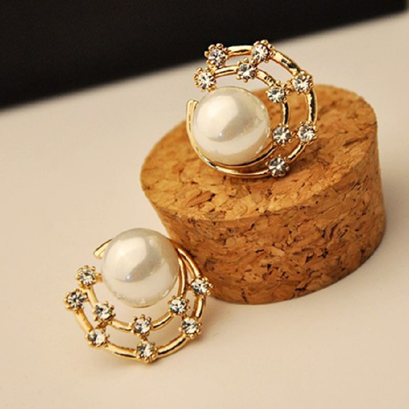 Alloy Korean E-Plating Gift Earrings