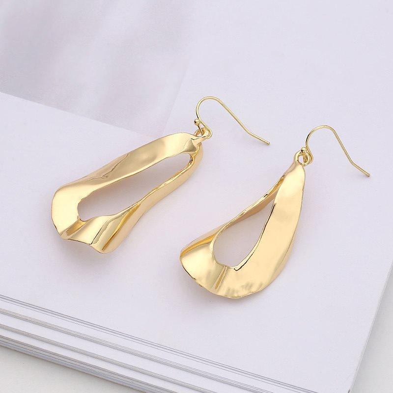 Water Drop Alloy E-Plating Engagement Earrings