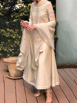 Ethnic Dress Long Sleeve See-Through Mid-Calf Regular Pullover Dress Diwali