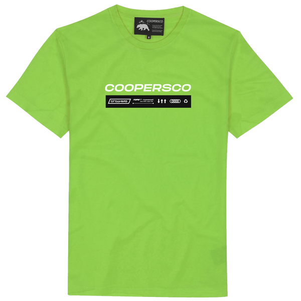 "Tee-shirt création n°9 ""The future"" Lime"