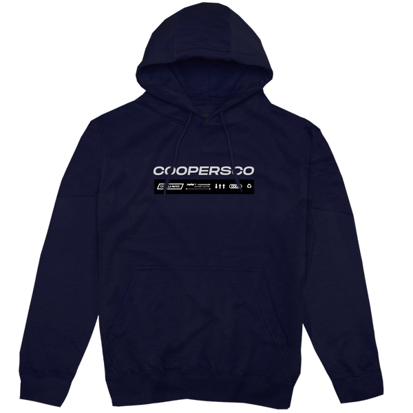 "Hoodie création n°9 ""The future"" Navy"