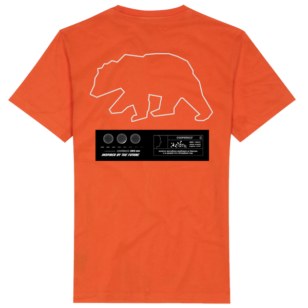 "Tee-shirt création n°9 ""The future"" Orange"