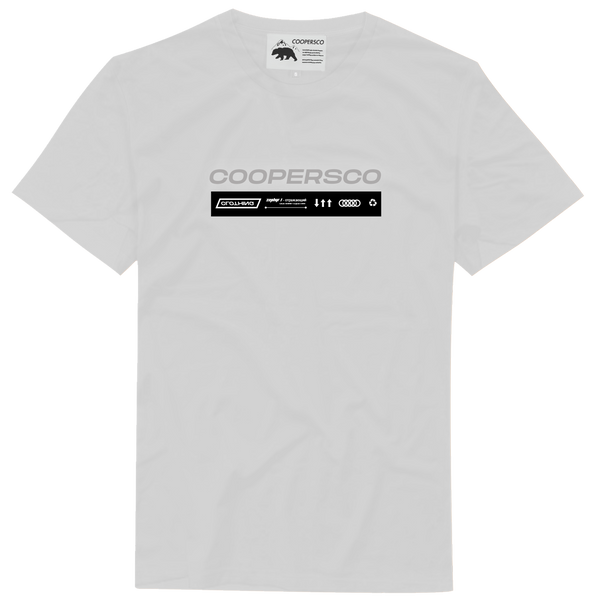 "Tee-shirt création n°9 ""The future"" Blanc"