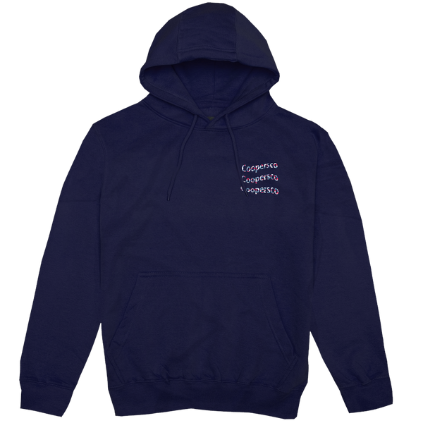"Hoodie concept 5 ""Wave from Paris"" Navy"
