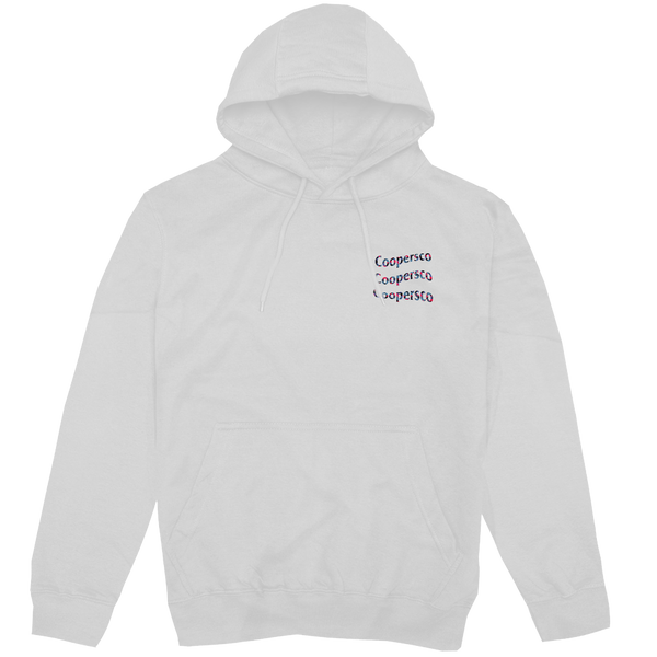 "Hoodie concept 5 ""Wave from Paris"" Blanc"