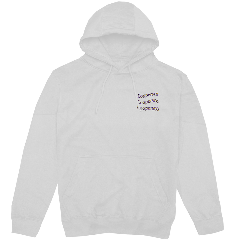 "Hoodie concept 5 ""Wave from LA"" Blanc"