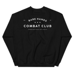 Bare Hands Combat Club Sweatshirt in Black