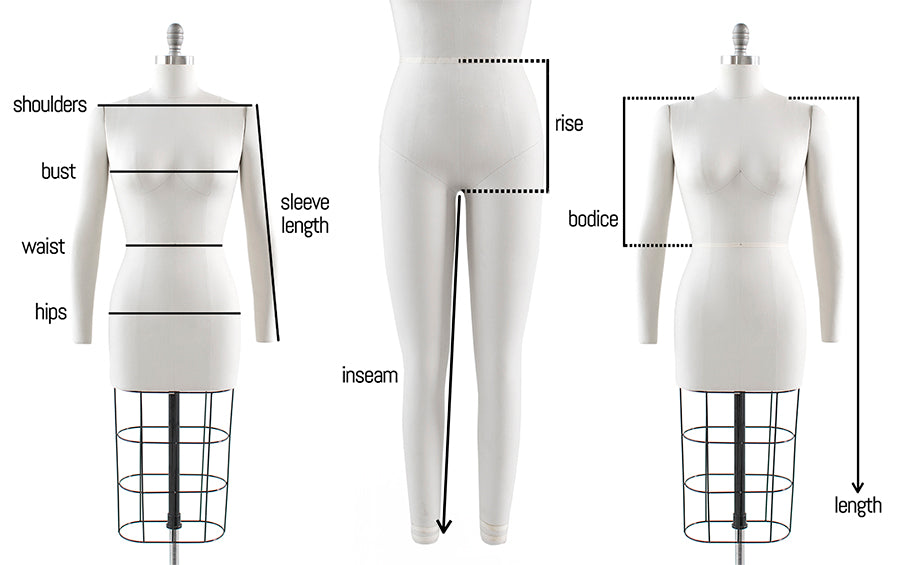 Fit Guide How to Measure Womens Clothing