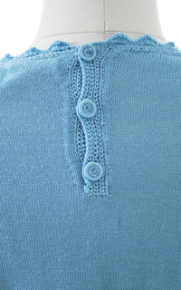 1960s Open Knit Sweater Top