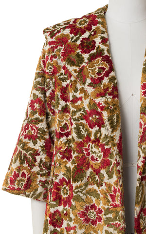 1960s Floral Tapestry Swing Coat | small/medium