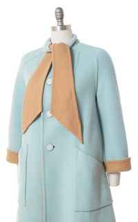 ♦ SOLD ♦ 1960s Reversible A-Line Coat | medium