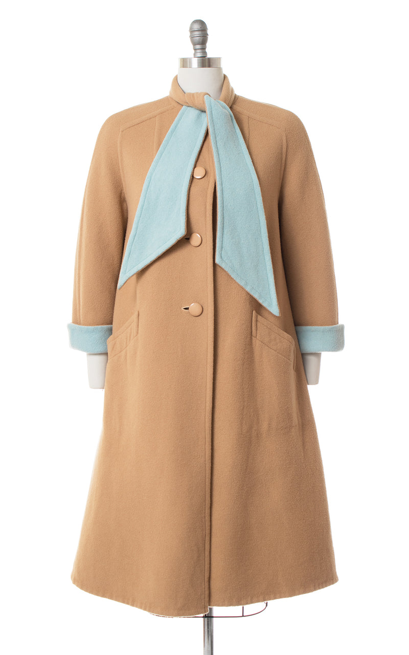 SOLD || 1960s Reversible A-Line Coat | medium