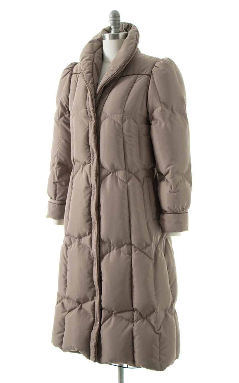 1980s Down Feather Puffer Coat