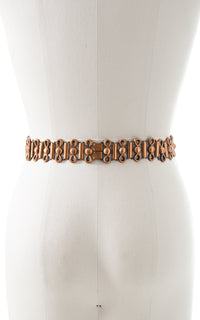 1950s Copper Cinch Belt