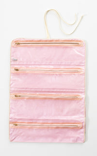 1960s Rose Toiletries Travel Case