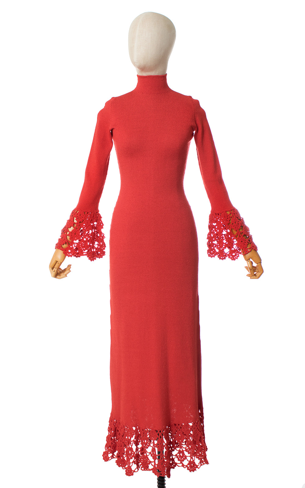 1960s Made Gerrard Knit Maxi Dress