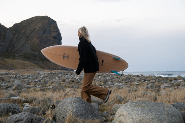 Nordic Surfing and Van Adventures with Josefin Alvtegen