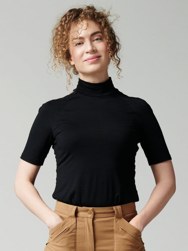 Aleksandra Merino Wool Top