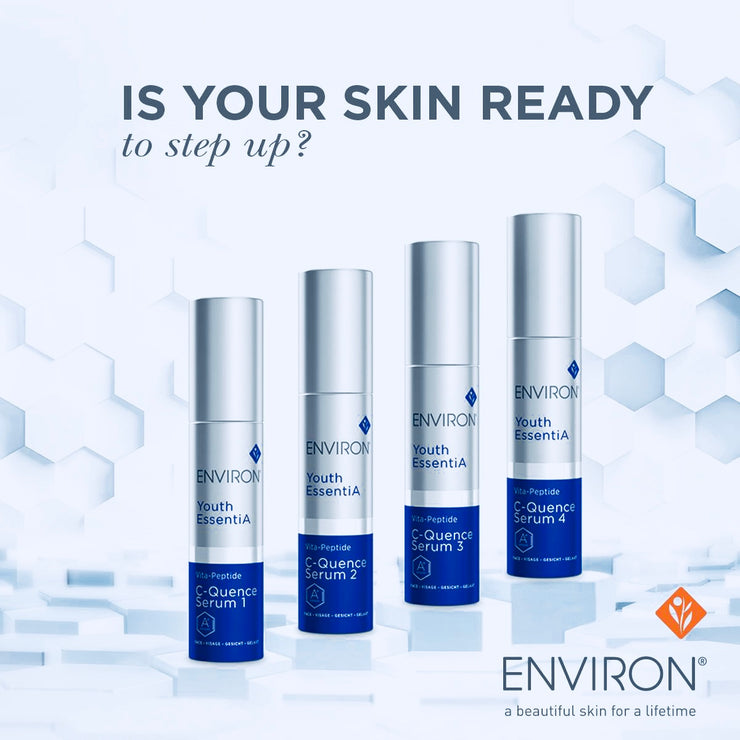 Environ Skincare Youth EssentiA C-Quence Serum available to buy at Geraldine's Skincare Clinic