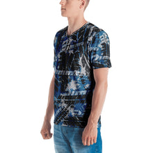 Load image into Gallery viewer, Dimma Tyre Pattern T-Shirt Miami Blue