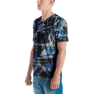 Dimma Tyre Pattern T-Shirt Miami Blue