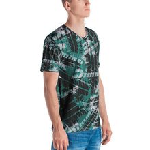 Load image into Gallery viewer, Dimma Tyre Pattern T-Shirt Laser Green