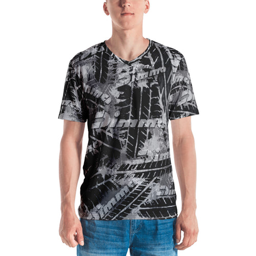 Dimma Tyre Pattern T-Shirt Steel Grey