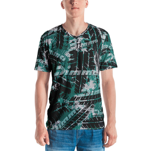 Dimma Tyre Pattern T-Shirt Laser Green