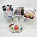 Photo Holder -Three Photos