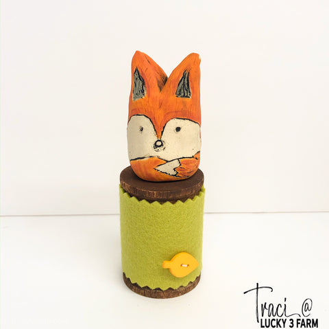Spool Critters - Fox