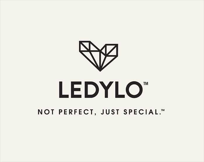 The Imperfect Diamond Heart - New Ledylo Logo