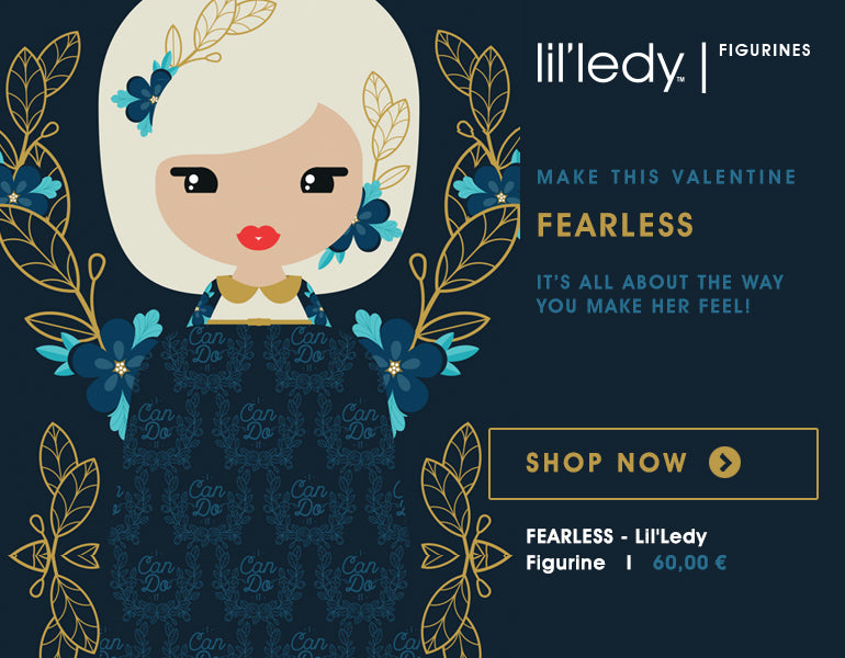 Lil' Ledy Fearless - Special Gift for Valentine's Day
