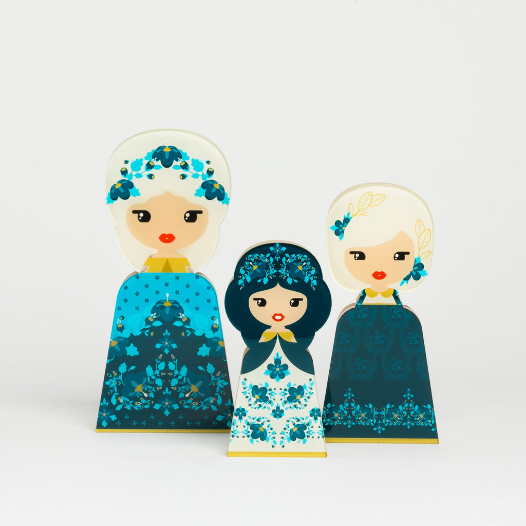 Bold Flower Collection - Lil' Ledy Figurines