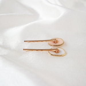 Pressed Flower Hair Pin