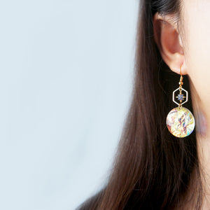 Orion Star Hex Earrings