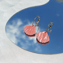 Load image into Gallery viewer, Marbled Scallop Shell in Hoops (Instock)