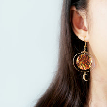 Load image into Gallery viewer, Moon & Star Twin Earrings