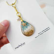 Load image into Gallery viewer, Maldives Teardrop Beach Keychain