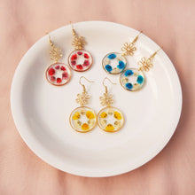 Load image into Gallery viewer, *PREORDER* Flora-go-round Dangle Earrings