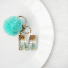 Load image into Gallery viewer, Amazonite X Beach Gemstone Keychain