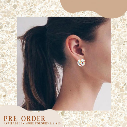 (Pre-Order) 22mm, 18mm, 14mm Circle Studs