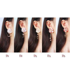Blossom Stud Earrings (F5)