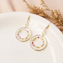 Load image into Gallery viewer, Floral Garland Earrings #1