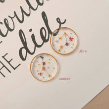 Load image into Gallery viewer, *PREORDER* Floral Horoscope Earrings