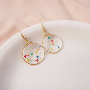 *PREORDER* Floral Horoscope Earrings