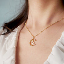 Load image into Gallery viewer, Luna Diamond Necklace